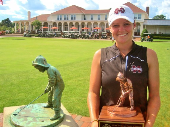 Mississippi State All-American Ally McDonald wins the 111th North & South Women's Amateur at Pinehurst.