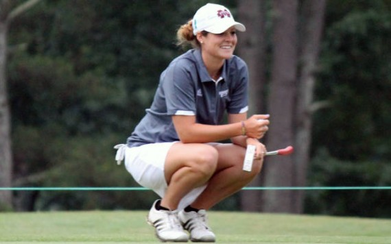 Ally McDonald, of Mississippi State, is in contention at the 111th North & South Amateur.