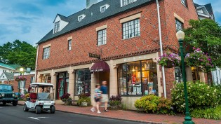 Explore a variety of unique shops and restaurants in the heart of the Village.