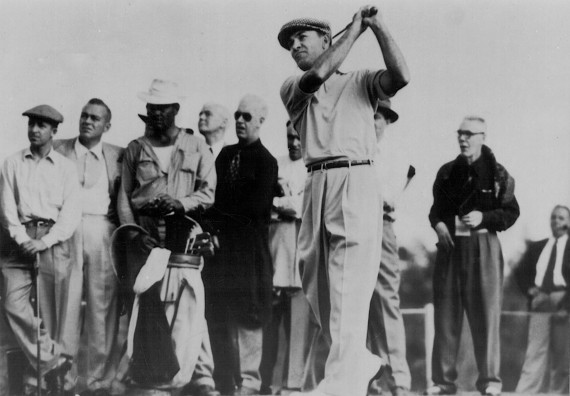 Ben Hogan won for the first time as a professional in the 1940 North & South Open. The Volcano then erupted.