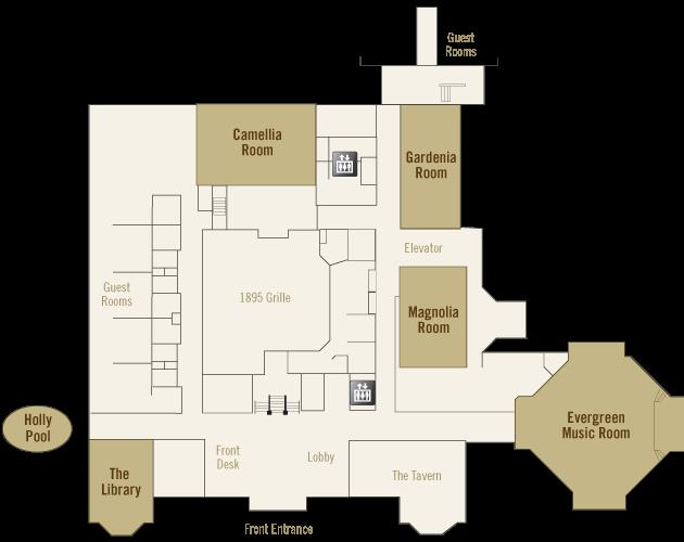 Holly Inn Map