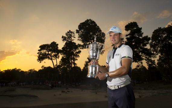 Martin Kaymer Trophy Sunset