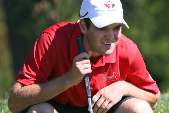 Corey Conners is one of the top-ranked amateurs in the world.