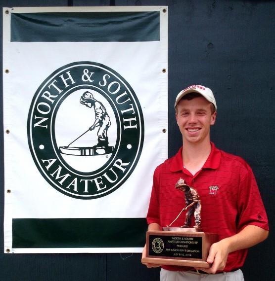 David Kocher is the 2014 Junior Boys North & South Champion.