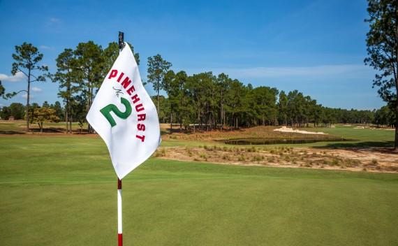 Pinehurst No. 2 flag 15th hole