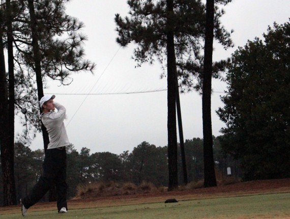 Donald Ross Junior Josh Martin tees off 2014