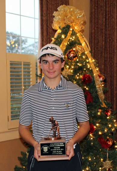 Donald Ross Junior winner AJ Beechler 2014