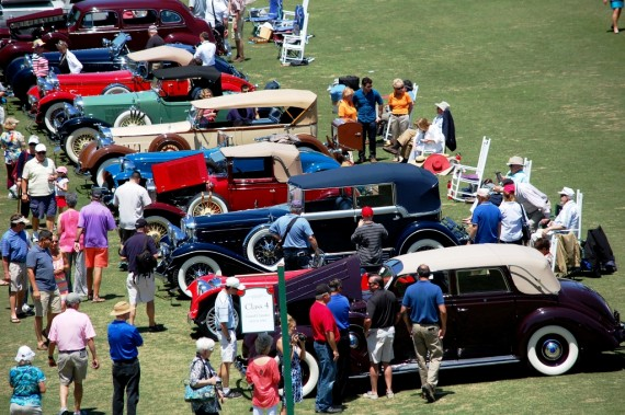 MAY: The 2014 Pinehurst Concours d'Elegance.