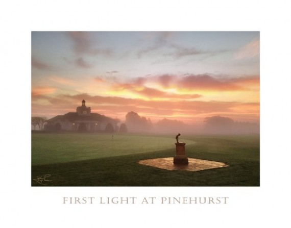 First Light at Pinehurst by Kaye Pierson