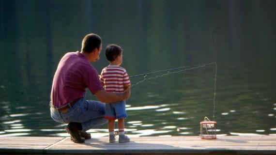 Enjoy a relaxing afternoon of fishing at Lake Pinehurst.