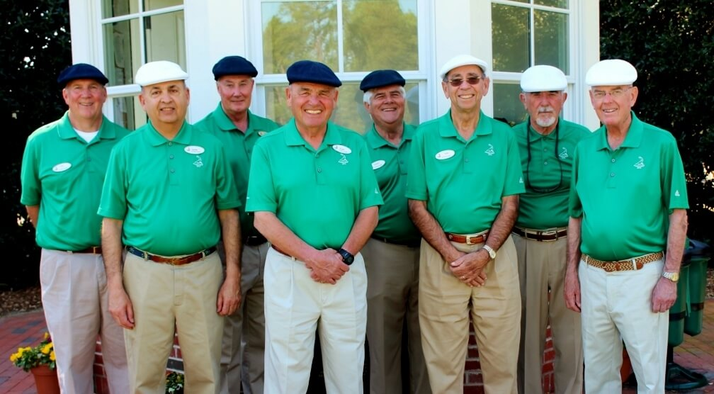 Pinehurst No. 2's starters are donning Hogan-styled caps to commemorate the 75th anniversary of Ben Hogan's first professional victory in the 9140 North & South Open at Pinehurst.