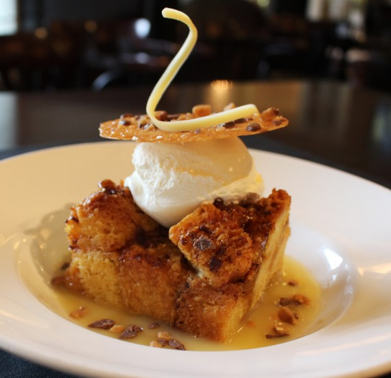 Caramel Toffee Bread Pudding