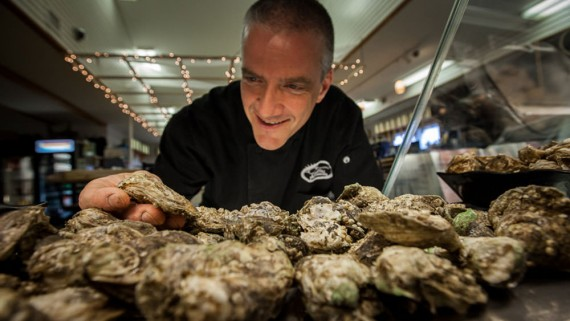 "Dan brings his knowledge of oysters and wine to ""Wine & Brine,"" Oysters and Wine 101"