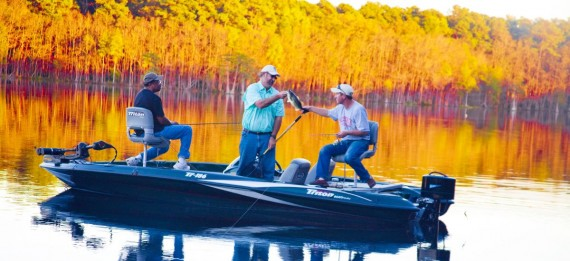 Experience world-class bass fishing with an experienced guide.