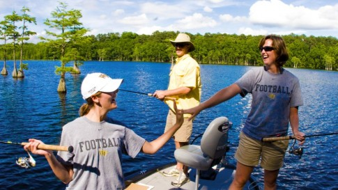 Enjoy a 1/2 day fishing with an experienced guide.