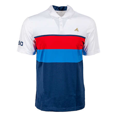 Mens Olympics Mest Stripe Polo-WhiteMineral-Front-4145 resize