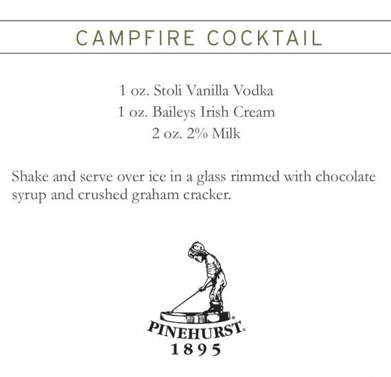 Campire Cocktail Recipe - December