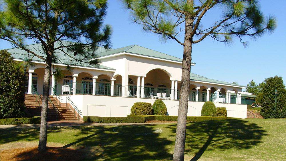 No 8 clubhouse veranda
