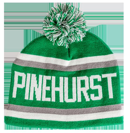 Pinehurst Winter Knit - DkGrn_Wht - Front resize