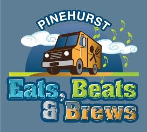 Eats Beats and Brews event promo