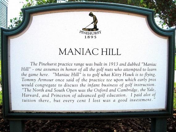 ManiacHillSign