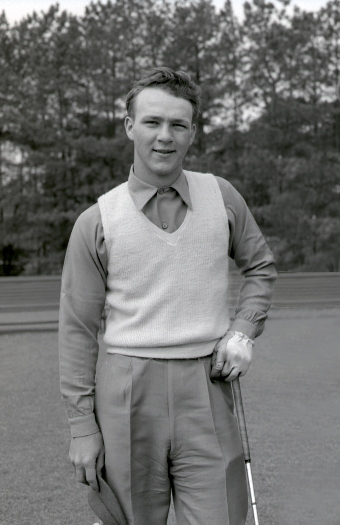 HEM2575.06 Golf - Men's N & S Amateur Arnold Palmer -1948 (680x1050)