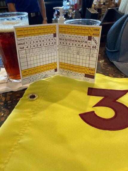 Patrick Scheil 59 on Course 3 Scorecard